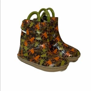 Robeez Frog Boots 2 3-6 Mo